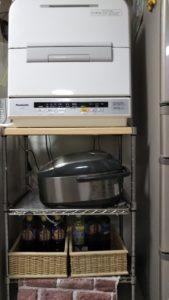 チクワ家の食洗機置き